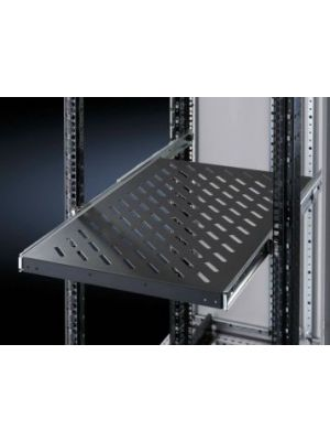 Rittal Component shelf, Telescopic shelf 600 - 900 - Black - 50kg